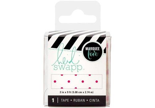 Heidi Swapp Tape Pink Polka Dot