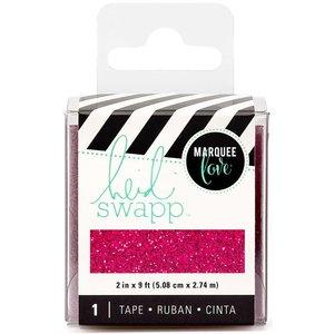 Heidi Swapp Tape Pink Glitter