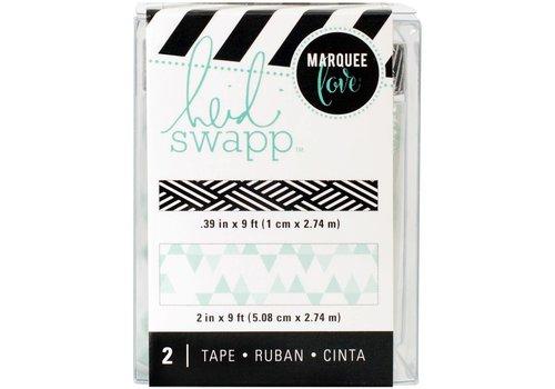 Heidi Swapp Tape Teal Print