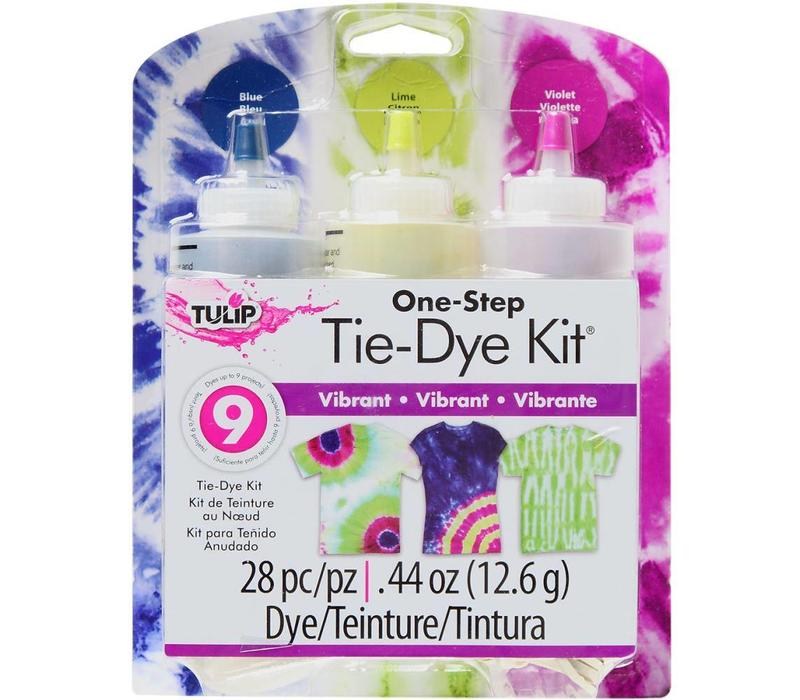 One-Step Tie-Dye Kit - Vibrant
