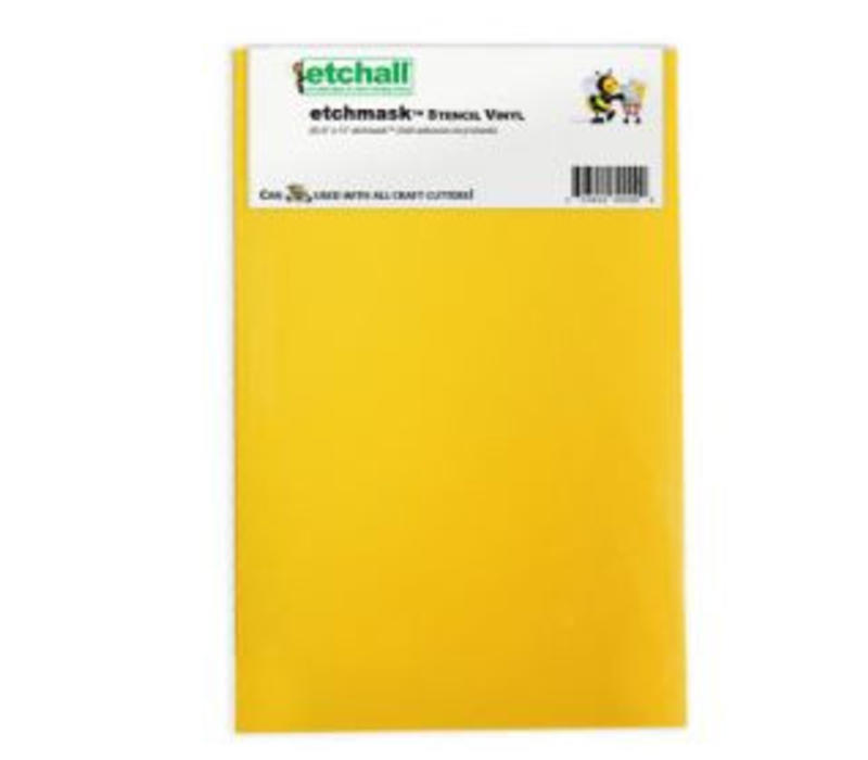 """Etchall Etchmask vinyl 9"""""""
