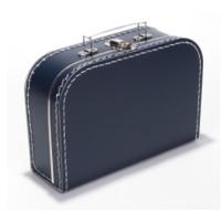 Koffer - midi effen - Marineblauw