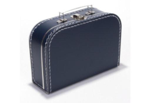 Koffer - midi effen - Navy