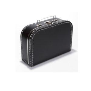 Koffer - midi effen - Zwart