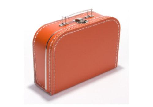 Koffer - midi effen - Oranje