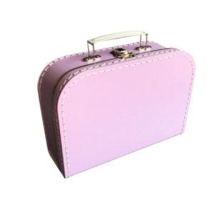 Koffer - midi effen - Lila