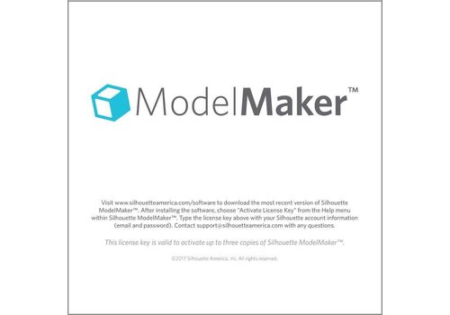 Silhouette Silhouette Model Maker (downloadcode)