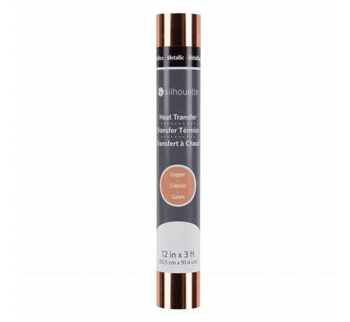 Silhouette Metallic Heat Transfer :  Copper