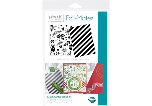 Deco Foil Foilmates Gina K - Ornamental Holiday