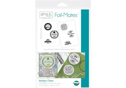 Deco Foil Foilmates Gina K - Holiday Cheer