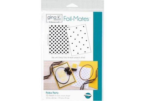 Deco Foil Foilmates Gina K - Polka Party
