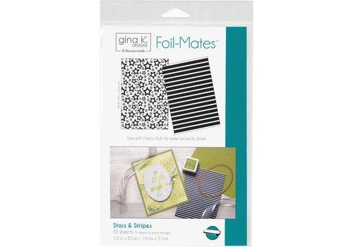 Deco Foil Foilmates Gina K - Stars&Stripes