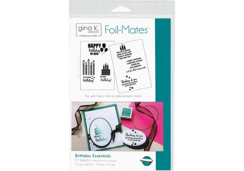Deco Foil Foilmates Gina K - Birthday Essentials