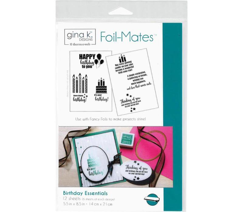Foilmates Gina K - Birthday Essentials