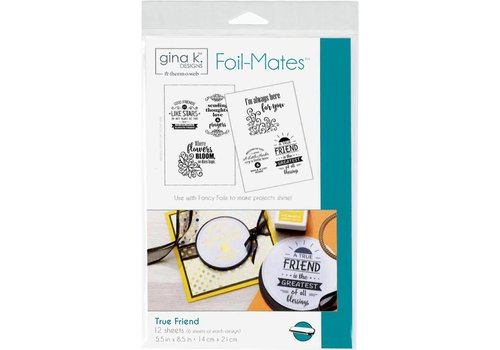 Deco Foil Foilmates Gina K - True Friend
