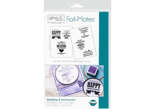Deco Foil Foilmates Gina K - Wedding&Anniversary