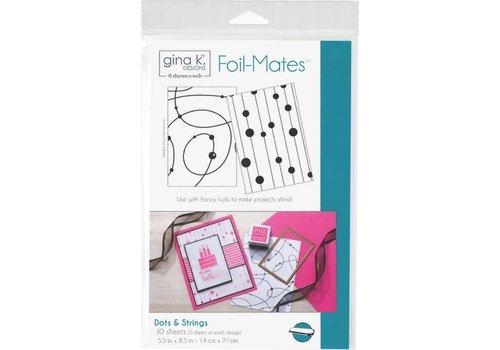 Deco Foil Foilmates Gina K - Dots&strings