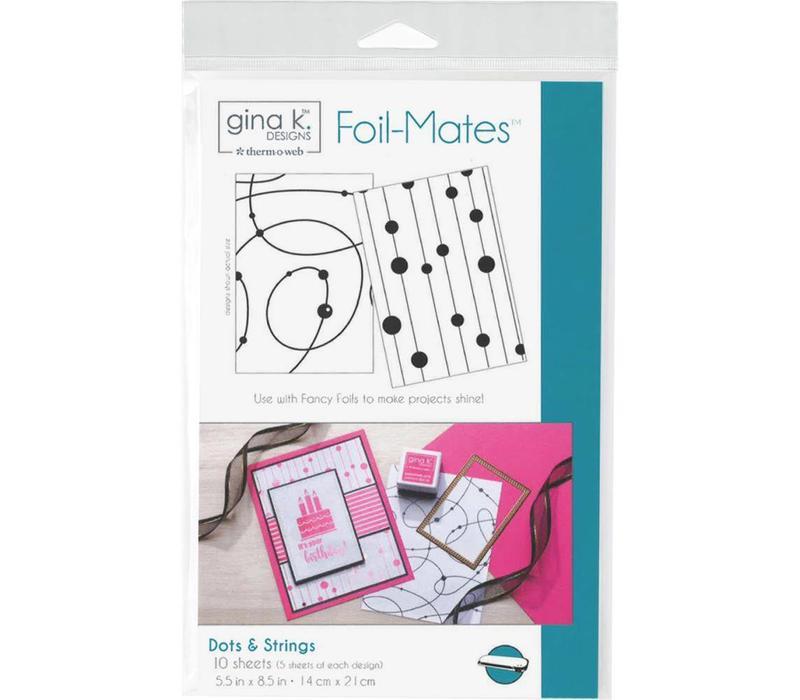 Foilmates Gina K - Dots&strings