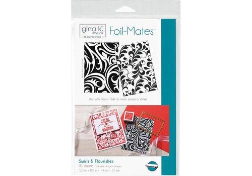 Deco Foil Foilmates Gina K - Swirls&flourishes