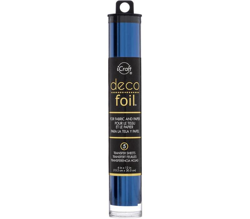 Deco Foil Deep Blue