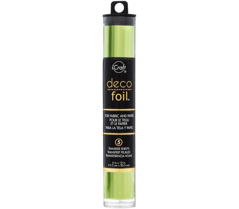 Deco Foil Lime