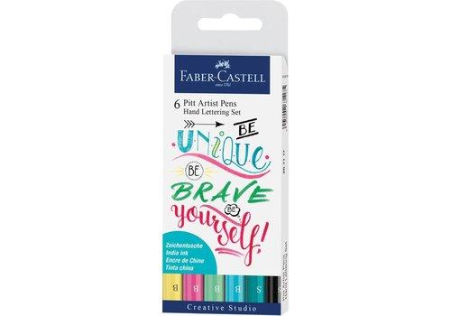 faber castell Pitt artist pens -  kleur