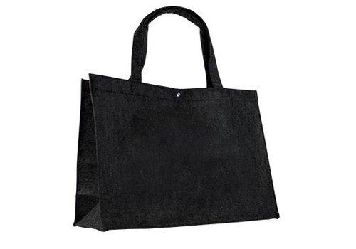 Vilten tas met hengsels - klein formaat