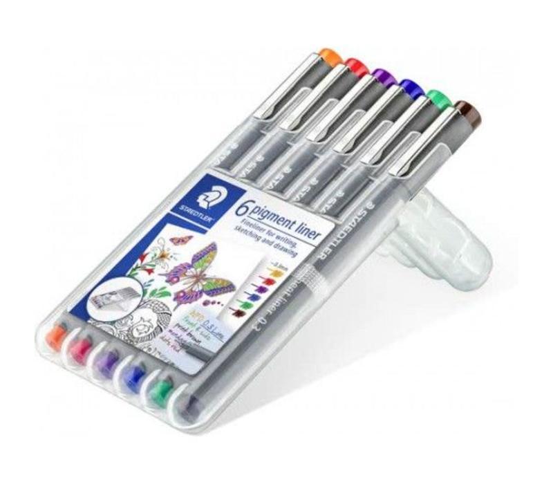 Pigment fineliner 6 - Kleur 0,3mm