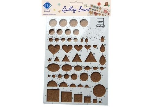 D'hondt Hobby Quilling Board
