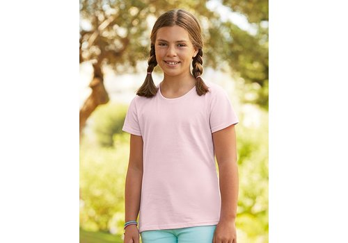 Fruit-of-the-Loom T-shirt kinderen (Meisjes)