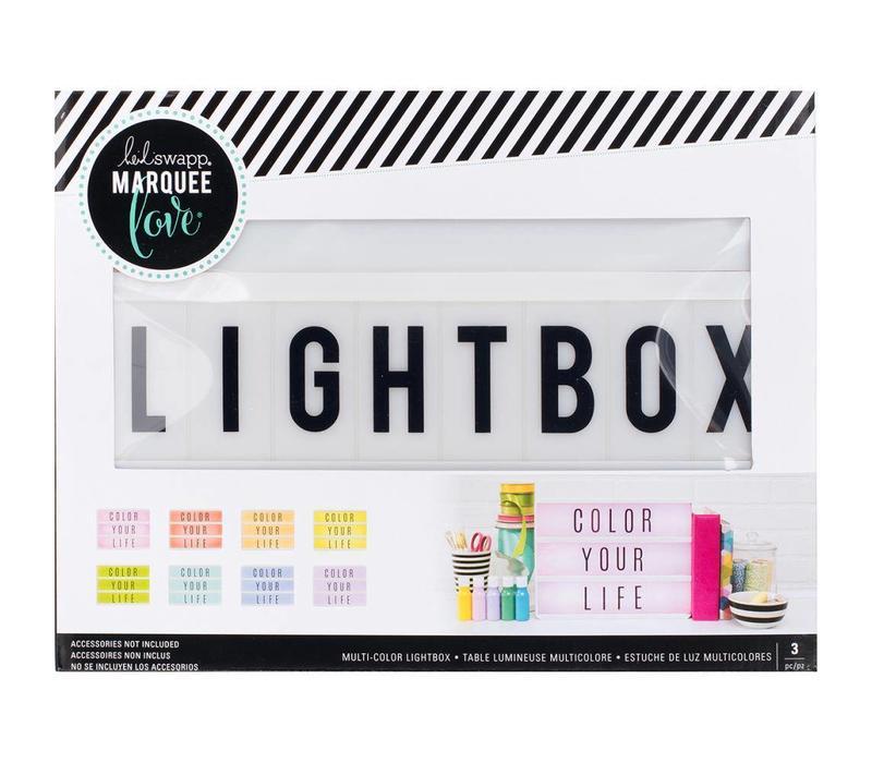 Lightbox Multi Color