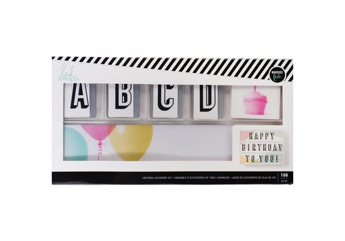 Heidi Swapp Accessoire kit - Happy Birthday