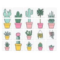 Iconen - Plant Lady