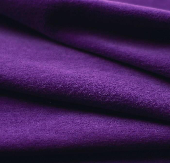 Nicky velour purple
