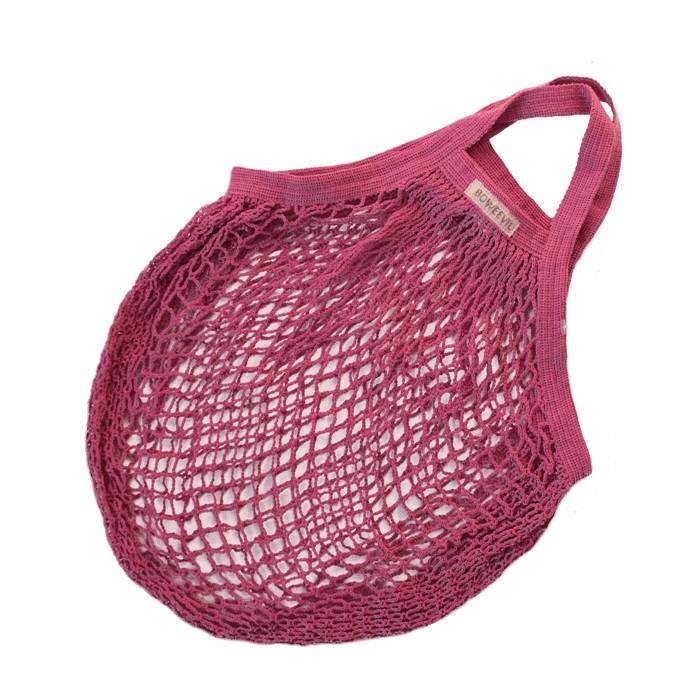 Granny's string bag fuchsia