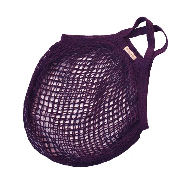 Granny's string bag lilac