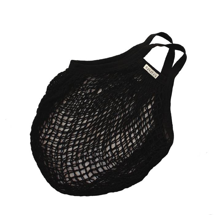 Granny's stringbag black
