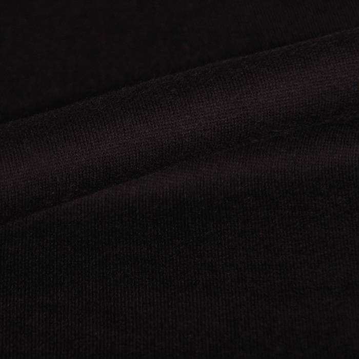 French terry stretch black