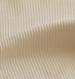 Wrist band fabric rib 2x2 natural