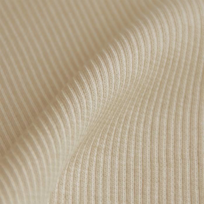 Wrist band fabric rib 2x2  with elasthan natural