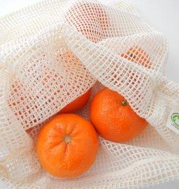 Groente- of fruitzakje L (10 stuks)