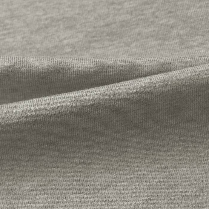 Single jersey stretch 30/1 heavy grey melange