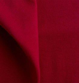 Wrist fabric 1x1 tango red / rib knit