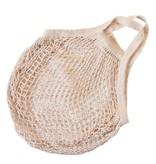 Omas Einkaufsnetz naturweiß (10 Stück) - ohne Label