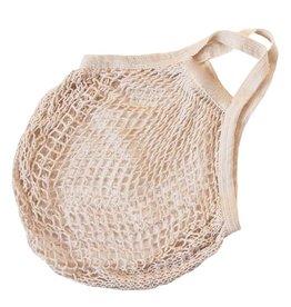 Omas Einkaufsnetz naturweiß - ohne Label