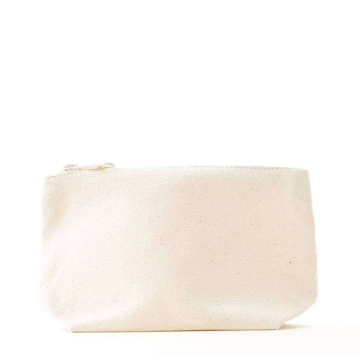 Small make-up bag with sturdy zipper and zipper - without label