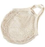 Omas Einkaufsnetz naturweiß (10 Stück)