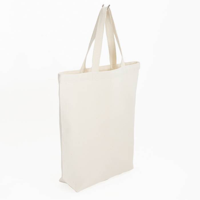 City bag - with white contrast stitching - 38x41cm - without label