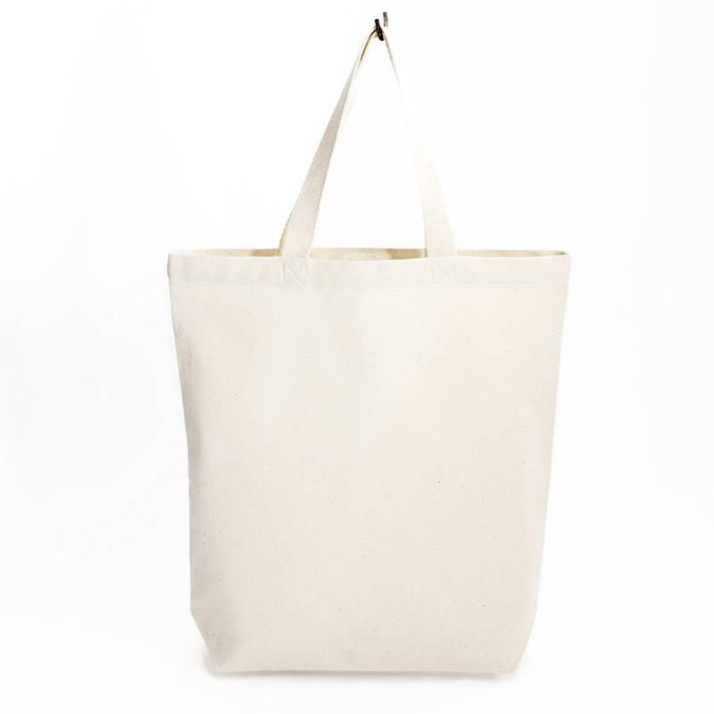 City bag  met wit contrast stiksel 38x41cm