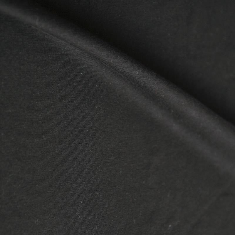 Single jersey 40/1 schwarz